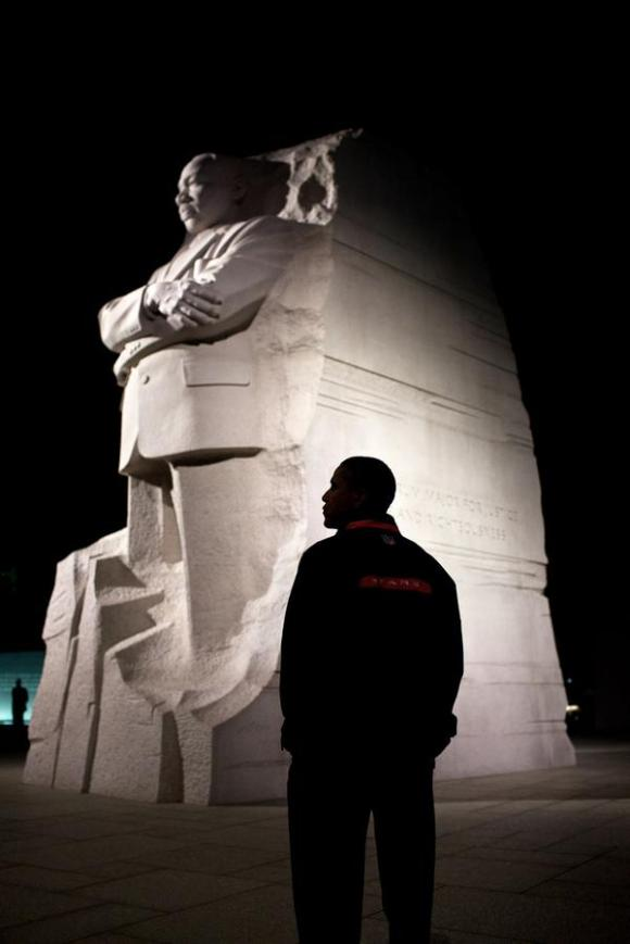 Obama Celebrates Martin Luther King Day With Image Of Barack Obama | The Daily Caller